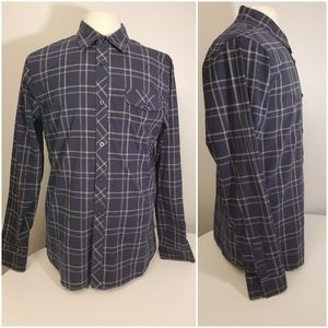 Active Plaid Longsleeve Button Up